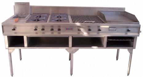Hornos para pizzas fabrica de hornos cocinas for Cocinas industriales a gas