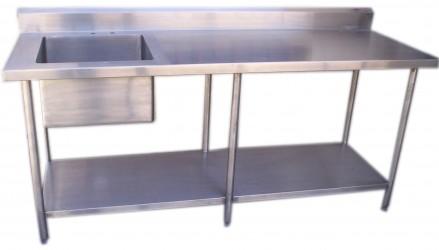 Hornos para pizzas fabrica de hornos cocinas - Mesa acero inoxidable para cocina ...